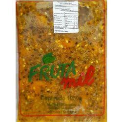 Marakuja - passiflora - męczennica cały owoc puree owocowe z pestkami (miąższ, pulpa, sok z miąższem) be