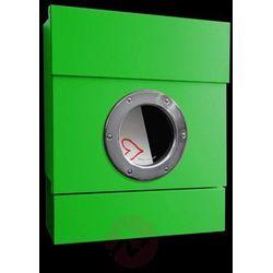 Absolut/ radius Ścienna skrzynka na listy letterman ii, zielona (4250208605392)