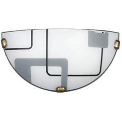 Kinkiet quadro biały k1 034/k1 eco - - sprawdź kupon rabatowy w koszyku marki Lampex