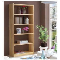TICAA Regał stojący, drewno świerkowe, kolor naturalny 170 cm - produkt z kategorii- Regały i półki