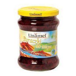 Buraczki do mięsa z papryką 460 g Unamel - produkt z kategorii- Przetwory warzywne i owocowe
