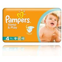 Pampers  sleep&play pieluchy 4 7-14kg 50szt, kategoria: pieluchy jednorazowe