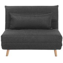 Sofa z funkcją spania ciemnoszara SETTEN, kolor szary