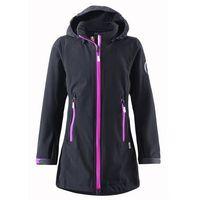 Bluza/ kurtka softshell Reima dłuższa SAFFRON czarna - ostatnia szt., towar z kategorii: Pozostała moda i s