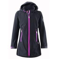 Bluza SOFTSHELL dłuższa Reima SAFFRON czarna - ostatnia szt., towar z kategorii: Pozostała moda i styl