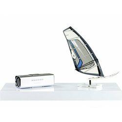 Biały połysk półka naścienna wisząca volato 90 cm - 90 cm marki Stilista ®