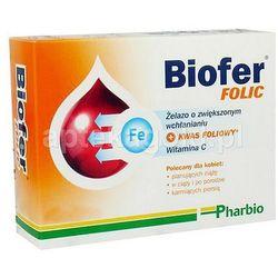 Biofer folic x 80 tabl - tabletki suplementy ciążowe
