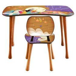 Stolik dziecięcy z krzesełkiem Czytanie, 90 x 52 x 60 cm (8595556465202)