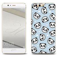 Fantastic Case - Huawei P10 Plus - etui na telefon Fantastic Case - panda na niebieskim tle, ETHW506FNTCFC0440