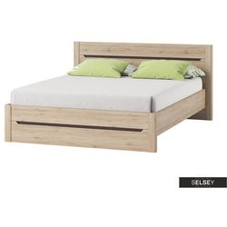 łóżko trobers 140x200 cm marki Selsey