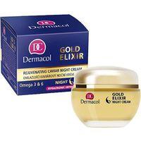 gold elixir rejuvenating caviar night cream 50ml w krem do twarzy wszystkie typy skóry marki Dermacol