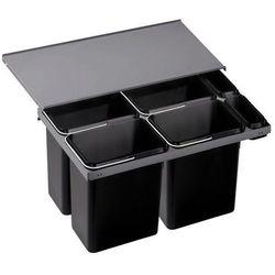 Sortownik odpadów, kosz na śmieci, poczwórny BLANCO FLEXON 90/6 (516601), kup u jednego z partnerów