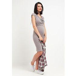 MAMALICIOUS MLTWISTY Sukienka z dżerseju ash - sprawdź w wybranym sklepie