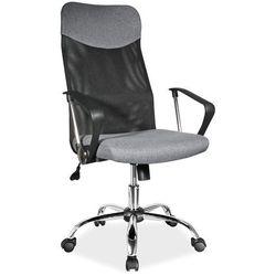 Fotel obrotowy q-025 szary materiał marki Signal meble