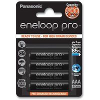 Panasonic Eneloop PRO AAA 900 mAh 500 cykli 4szt - produkt z kategorii- Akumulatorki