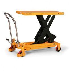 Podnośny stół BS o maksymalnym obciążeniu 1000 kg