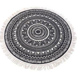 Okrągły dywan dekoracyjny, Ø 120 cm marki Home styling collection