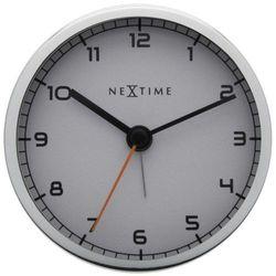 Nextime - zegar stojący company alarm - biały