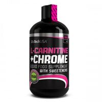 BioTech USA L-Carnitine + Chrome 500 ml