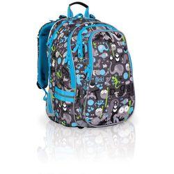 Topgal Plecak szkolny  chi 701 c - grey, kategoria: tornistry i plecaki