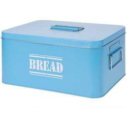 Chlebak metalowy bin tin - chlebak z pokrywką, pojemnik na pieczywo marki Eh excellent houseware