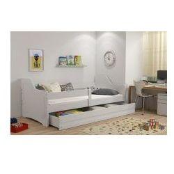Łóżko Zosia białe z materacem 80x160, 2288