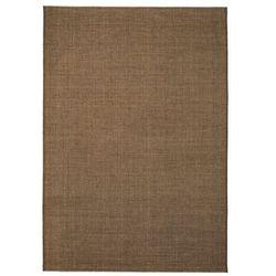 Dywan sizalowy, na zewnątrz i do wewnątrz, 180x280 cm, brązowy marki Vidaxl