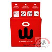 Prezerwatywy -  condoms 3 sztuki marki Wingman