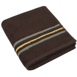 Bellatex Ręcznik Zuzka ciemnobrązowy, 50 x 100 cm