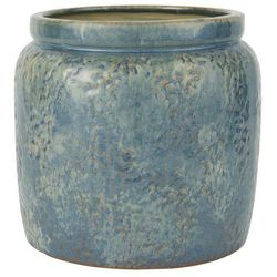 Ib Laursen - Doniczka ceramiczna Ocean Blue bez dziury duża