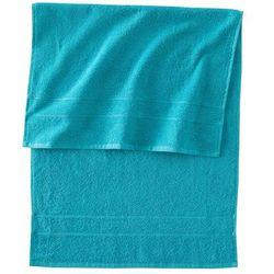 Ręczniki bawełniane (4 szt.) bonprix niebieskozielony
