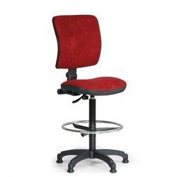B2b partner Podwyższone krzesło biurowe milano ii - czerwone