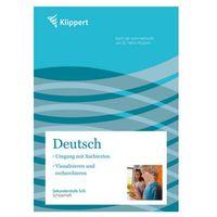 Deutsch, Umgang mit Sachtexten, Visualisieren und recherchieren, Schülerheft