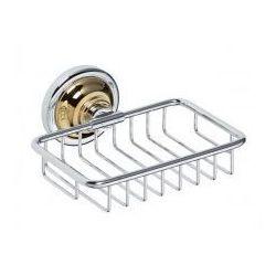 Retro mydelniczka koszyczek chrom-złoto 144208168 od producenta Bemeta