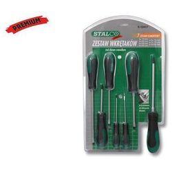 Zestaw wkrętaków 7el. - premium - s-12417 marki Stalco