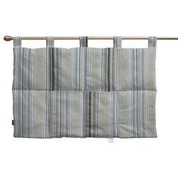 wezgłowie na szelkach, brązowo-beżowe pasy, 90 x 67 cm, rustica marki Dekoria
