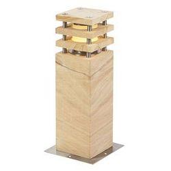 Nowoczesna lampa stojąca na zewnątrz beżowy 40 cm - Grumpy