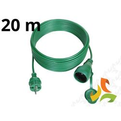 Przedłużacz choinkowy hermetyczny 20m IP44 zielony PS-160IP44 - ABEX