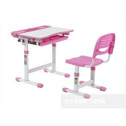 Cantare pink - ergonomiczne, regulowane biurko dziecięce + krzesełko - złap rabat: kod30 marki Fundesk