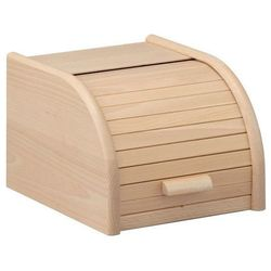 Zeller Drewniany chlebak, pojemnik na pieczywo, 23x28x18cm,