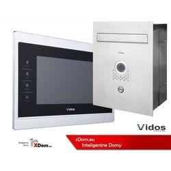 Zestaw VIDOS skrzynka na listy z wideodomofonem. Monitor 7'' S551-SKP_M901S