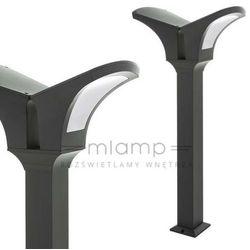 Italux Słupek lampa stojąca valencia grey 2023-2/100/gy-5 zewnętrzna oprawa ogrodowa latarnia ip44 outdoor