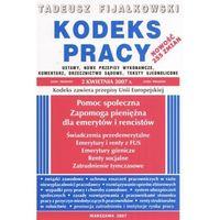 Kodeks pracy + zakładka do książki GRATIS (8387534579)