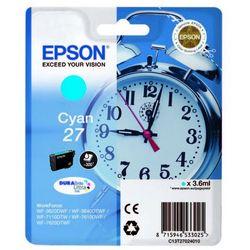 Oryginalny Tusz Epson T27 (C13T27024010) - Cyan 3.6 ml (8715946533025)