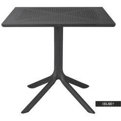 Selsey stół owenia 80x80 cm czarny (5903025004044)