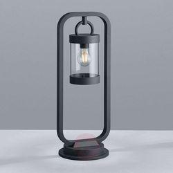 504160142 Sambesi Antracyt 60cm z czujnikiem E27 IP44 Lampa ogrodowa stojąca Trio