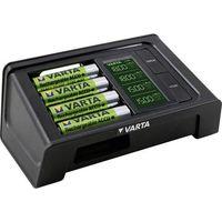 Ładowarka Varta LCD Smart Charger + 4 akumulatory (57674101441) Szybka dostawa! Darmowy odbiór w 21 miastach