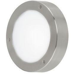 Kinkiet LAMPA elewacyjna VENTO 94091 Eglo zewnętrzna OPRAWA sufitowa LED 7,5W okrągły PLAFON ogrodowy IP44 outdoor biały, 94091