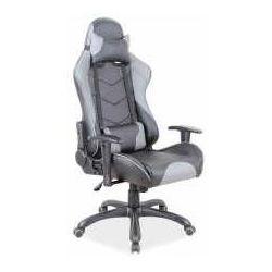 Fotel q-109 czarno-szary - zadzwoń i złap rabat do -10%! telefon: 601-892-200 marki Signal meble