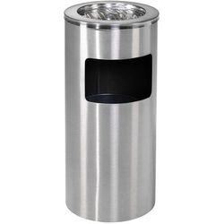 Aluminiowa popielnica o poj 13 l - Wysokość: 650mm średnica 300mm